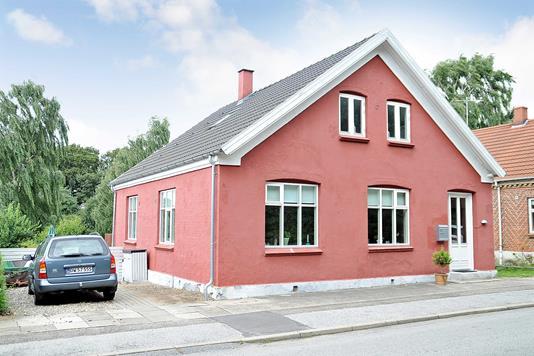 Villa på Stationsvej i Horsens - Ejendommen
