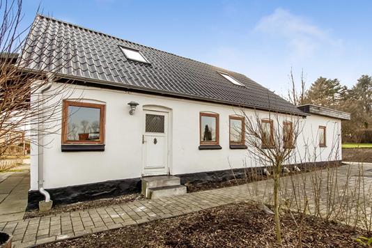 Villa på Vesterenden i Flemming - Ejendommen