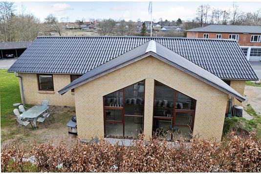 Villa på Søndergade i Hornsyld - Ejendommen