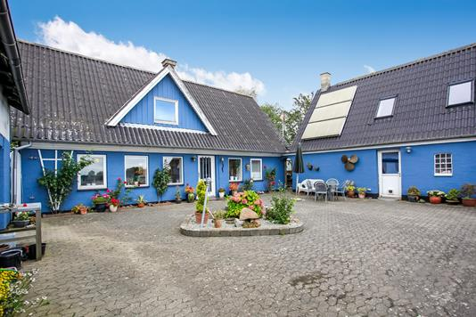 Villa på Øksenhavevej i Juelsminde - Ejendommen