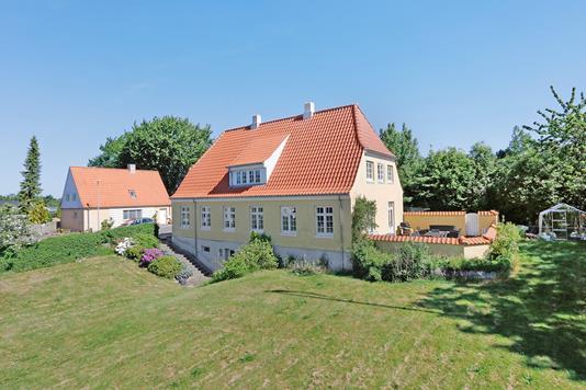 Villa på Apotekerbakken i Hornsyld - Mastefoto
