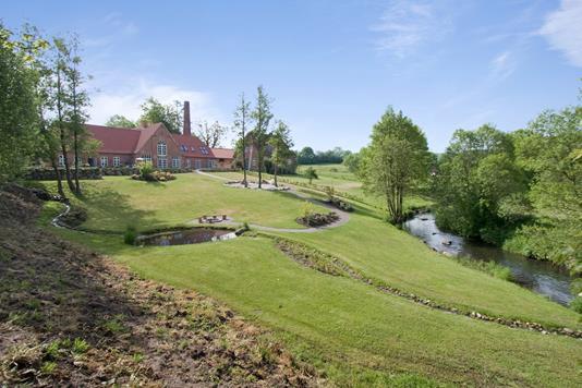 Villa på Ørumvej i Daugård - Have