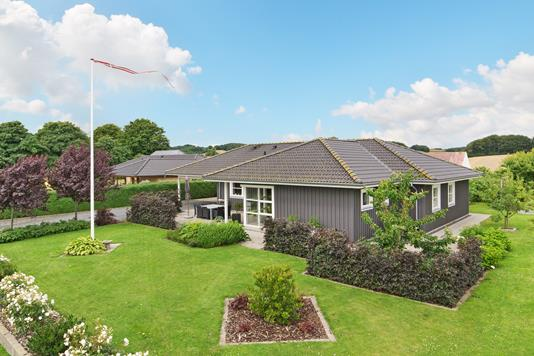 Villa på Skovlunden i Hornsyld - Ejendommen