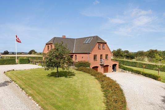 Villa på Vestermarksvej i Juelsminde - Mastefoto