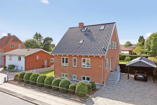 Villa på Bøgevangsgade i Horsens - Mastefoto