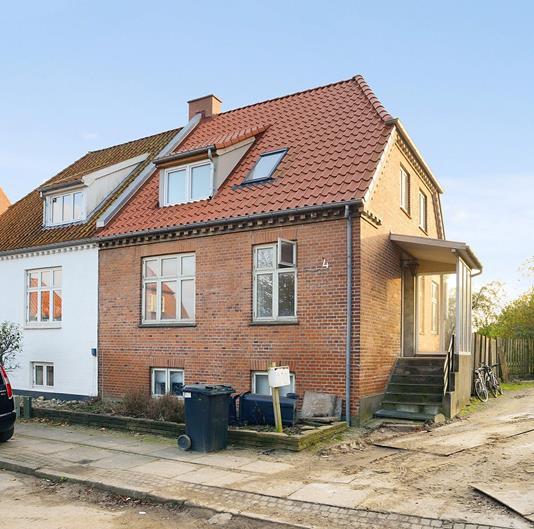 Rækkehus på Absalonsgade i Horsens - Ejendommen