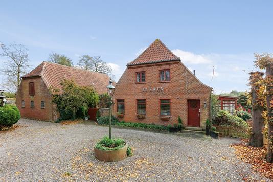 Villa på Skanderborgvej i Gedved - Ejendommen