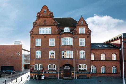 Ejerlejlighed på Vitus Berings Plads i Horsens - Ejendommen