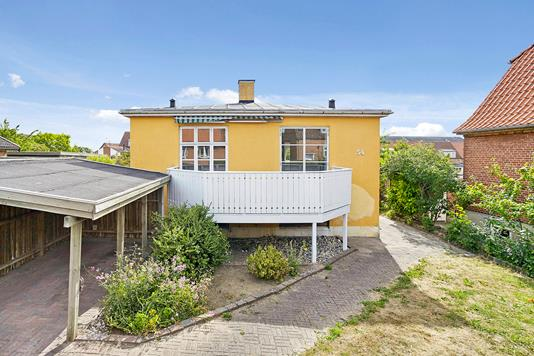 Villa på Bøghsgade i Horsens - Mastefoto