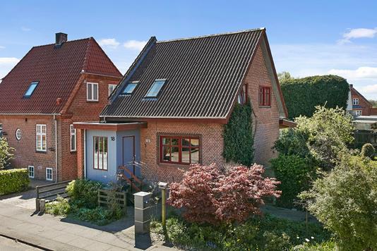 Villa på Absalonsgade i Horsens - Ejendommen