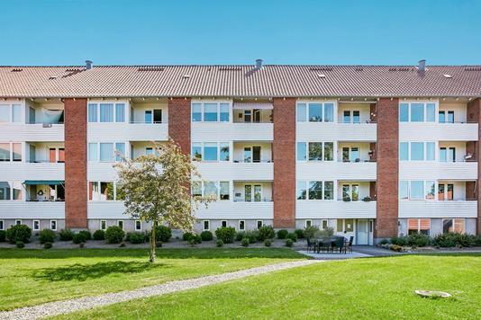 Andelsbolig på Fredrik Bajers Gade i Horsens - Ejendommen