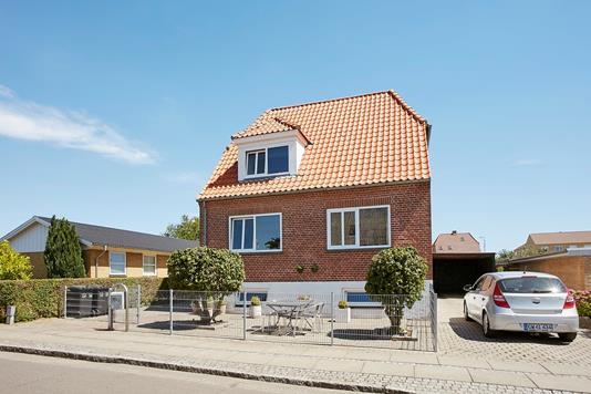 Villa på Pilegade i Horsens - Ejendommen