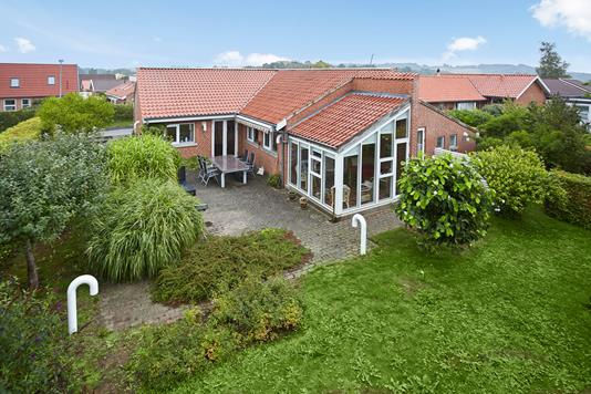 Villa på Charlotteparken i Horsens - Mastefoto
