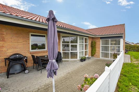 Villa på Charlotteparken i Horsens - Terrasse