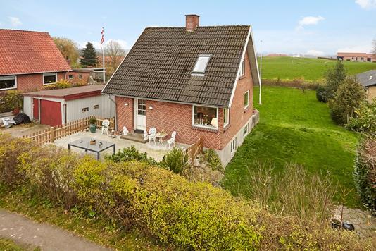 Villa på Vandværksvej i Horsens - Mastefoto