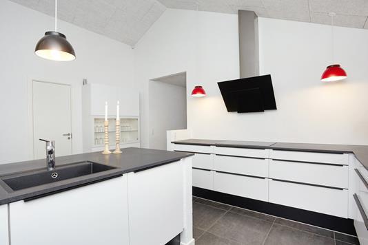Villa på Mirabellehegnet i Horsens - Køkken