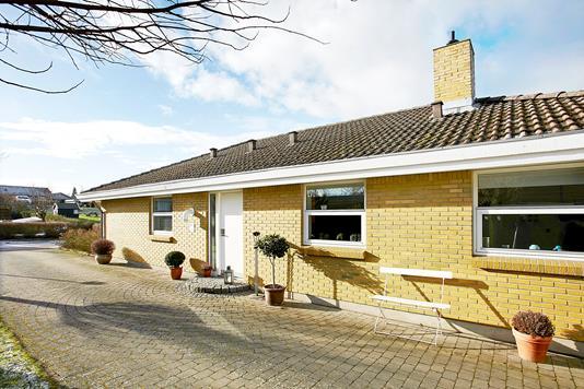 Villa på Hvedevænget i Horsens - Ejendommen