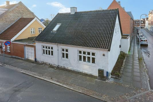 Villa på Houmannsgade i Horsens - Mastefoto