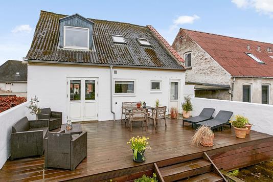 Villa på Vestergade i Horsens - Terrasse