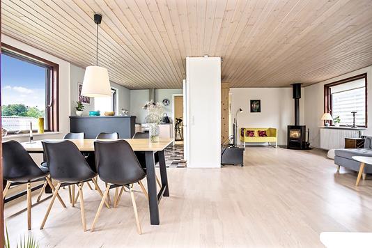 Villa på Møllevej i Hovedgård - Stue