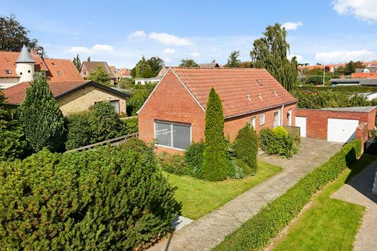 Villa på Sundvej i Horsens - Mastefoto