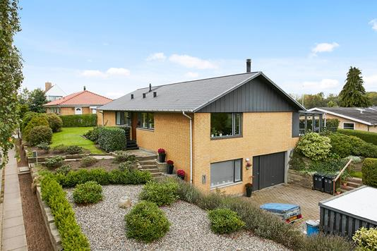 Villa på Torstedalle i Horsens - Mastefoto