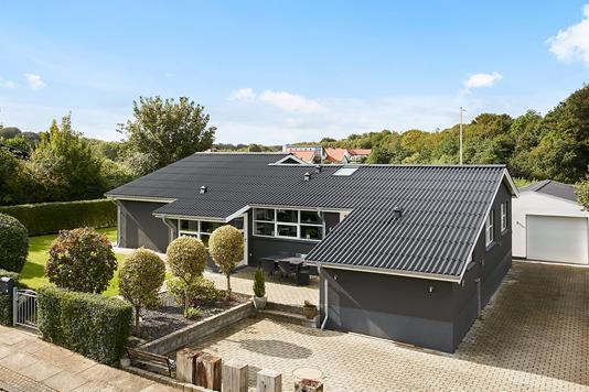 Villa på Tegltoften i Horsens - Mastefoto