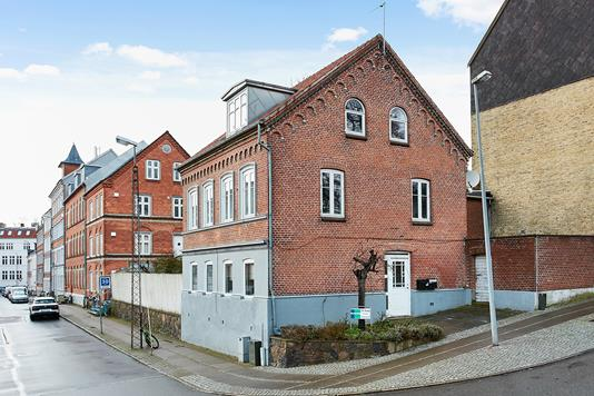 Ejerlejlighed på Carolinelundsvej i Horsens - Ejendommen