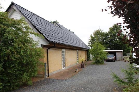 Villa på Grønningen i Rødding - Ejendommen