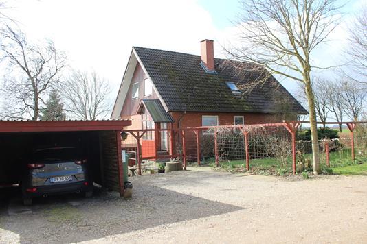 Villa på Hygummark i Rødding - Ejendommen