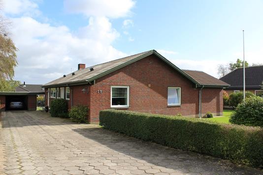 Villa på Rødding Birkevej i Rødding - Ejendommen