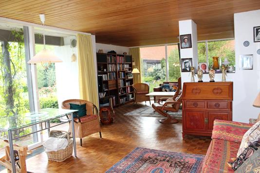 Villa på Troldhøj i Gram - Stue