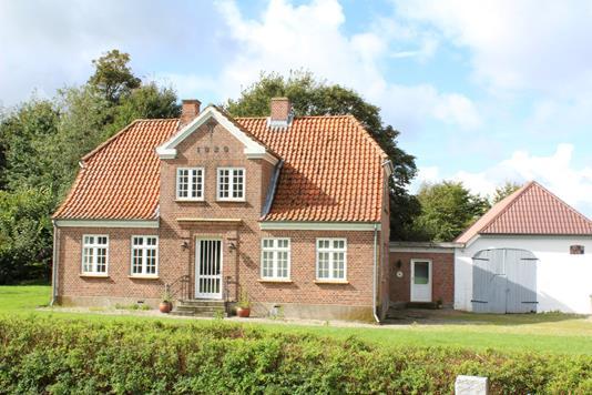 Landejendom på Kamtrup Skolevej i Rødding - Ejendommen