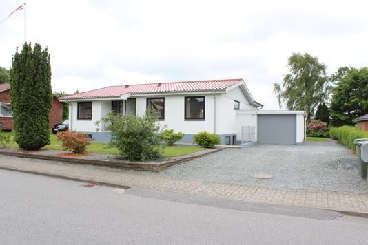 Villa på Søndervang i Gram - Ejendommen