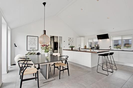 Villa på Christianshave i Kolding - Køkken