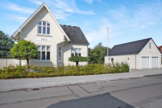 Villa på Danmarksgade i Vamdrup - Ejendommen