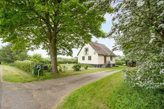 Villa på Dons Byvej i Almind - Ejendommen