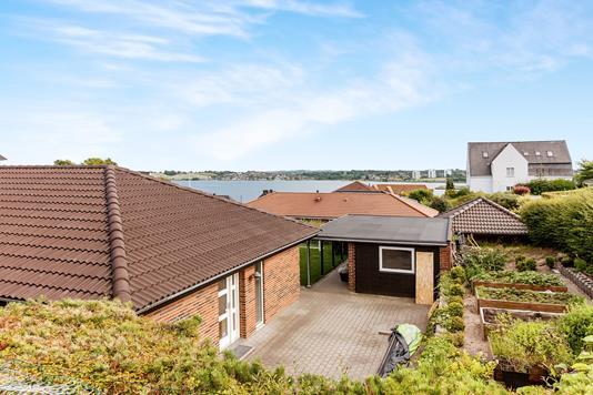 Villa på Fjordskrænten i Kolding - Udsigt