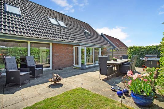 Villa på Friggasvej i Kolding - Terrasse