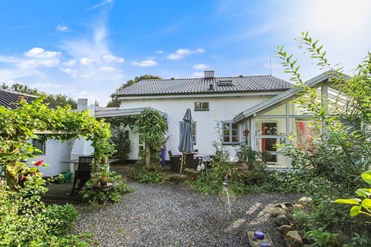 Villa på Købmandsgade i Sjølund - Ejendommen
