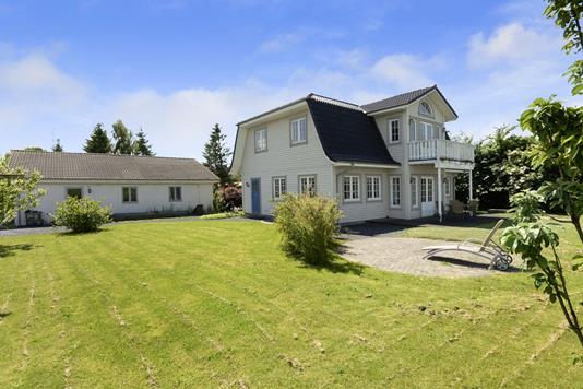 Villa på Østergårdsvej i Vamdrup - Ejendommen