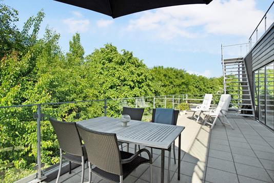 Villa på Samsøvej i Kolding - Terrasse