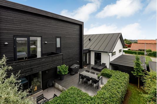 Villa på Skolevænget i Kolding - Terrasse