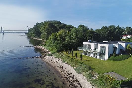 Villa på Smedegårdsvej i Fredericia - Luftfoto