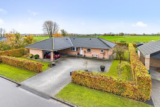 Villa på Stagebjergparken i Almind - Mastefoto