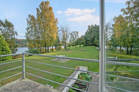 Villa på Stallerup Sø i Kolding - Have