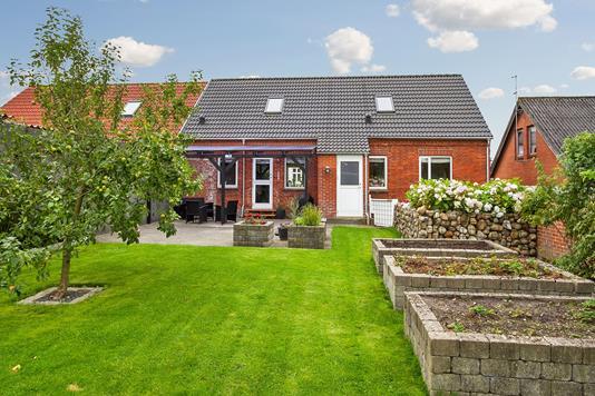 Villa på Østre Hovedgade i Hjerm - Ejendommen
