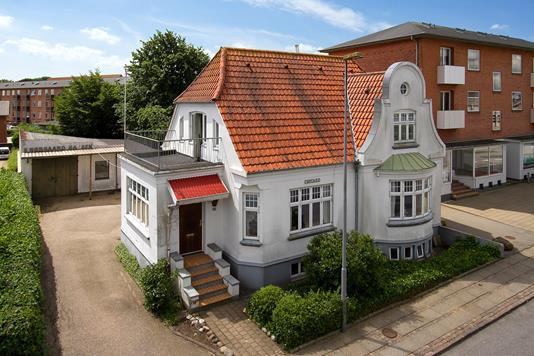 Villa på Vestergade i Holstebro - Ejendommen