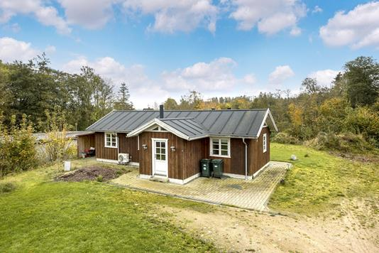 Villa på Borupsvej i Sørvad - Ejendommen