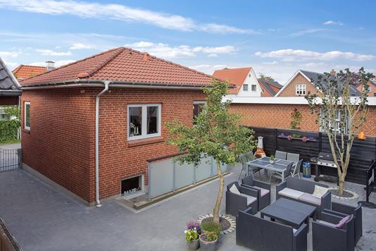 Villa på Grønlandsvej i Holstebro - Facade